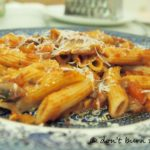 Chorizo and Pork Pasta Bake