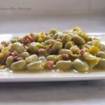 Baby Broad Bean and Ham Salad